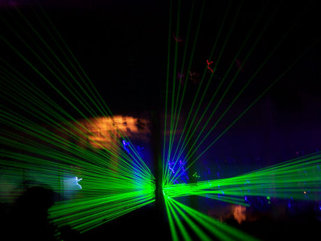 Lasers at the In Charge Stage